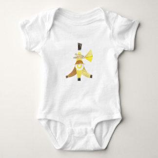 Banana Split No Background Babygro Baby Bodysuit