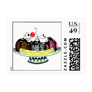 Banana Split Stamps
