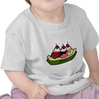 Banana Split Sweet Ice Cream Treat Shirt