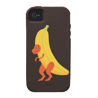 Banana T Rex Vibe iPhone 4 Covers