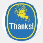 Banana Thank You Sticker