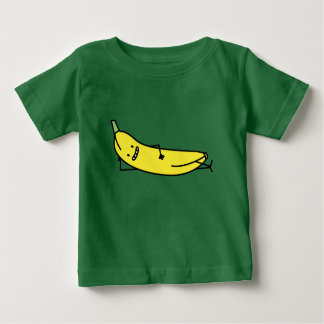 Banana that's laying down and relaxing baby T-Shirt