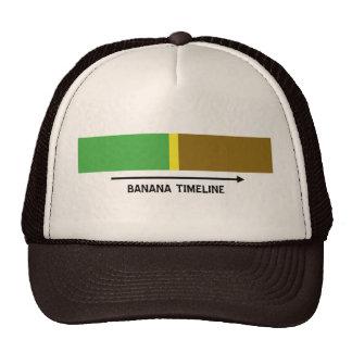 Banana Timeline Trucker Hat