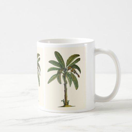 Banana Trees Botanicals Classic White Coffee Mug