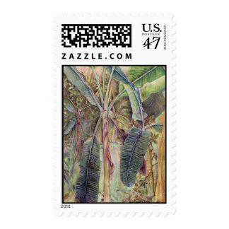 Banana Trees Postage Stamp