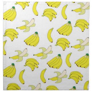 Banana Wallpaper American MoJo Napkins