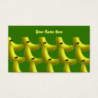 Banana Wallpaper, Your Name Here Business Card