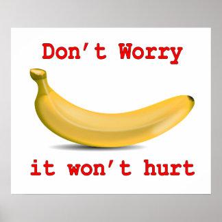 Banana Won't Hurt You Poster