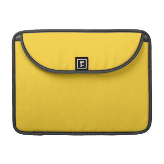 BANANA YELLOW (a solid fruity color) ~~ MacBook Pro Sleeve