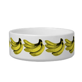 Banana Yellow Graphic Bowl