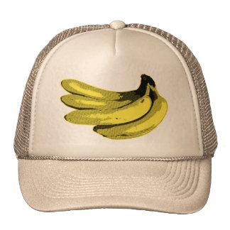 Banana Yellow Graphic Trucker Hat