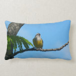Bananaquit Bird and Blue Sky Photography Lumbar Pillow