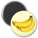 Bananas 2 Inch Round Magnet