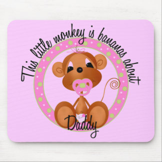 Bananas About Daddy Tshirts and Gifts Mouse Pad
