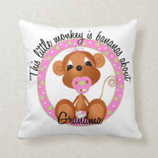 Bananas about Grandma Pillow