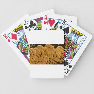 Bananas Abstract Bicycle Playing Cards
