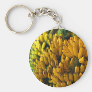 Bananas at night keychain