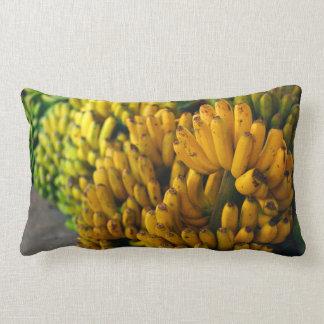 Bananas at night lumbar pillow