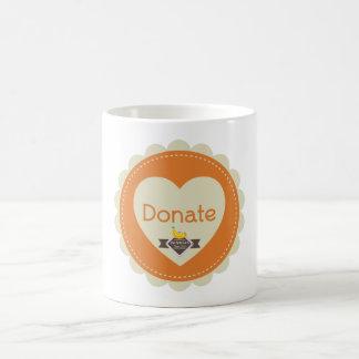BANANAS Donate Mug with Logo