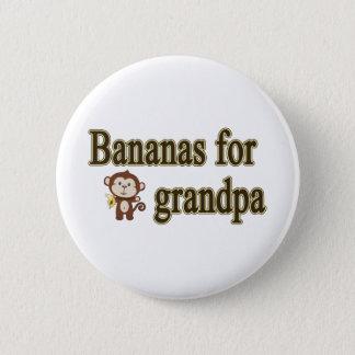 Bananas for grandpa button