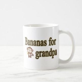 Bananas for grandpa coffee mug