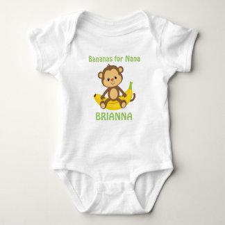 Bananas For Nana Baby Bodysuit