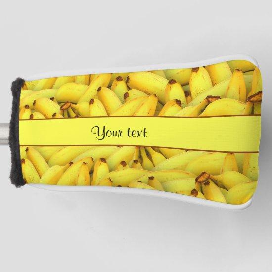 Bananas Golf Head Cover
