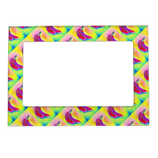 Bananas in a Rainbow Magnetic Photo Frame