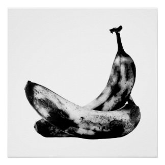 Bananas In Love Beautiful Unique Cool Fun Poster