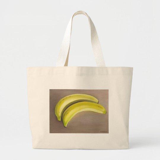 Bananas Large Tote Bag