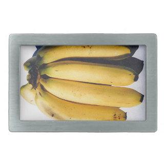 bananas rectangular belt buckle