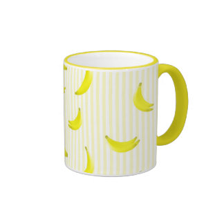 Bananas Ringer Mug