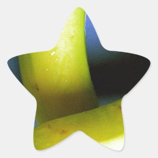 Bananas Star Sticker