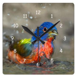 """Bañando el empavesado pintado varón """"ciris del reloj cuadrado"""