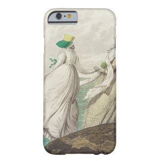 """Bañando el lugar, de la """"galería de la moda"""", 1797 funda barely there iPhone 6"""
