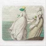"""Bañando el lugar, de la """"galería de la moda"""", 1797 tapetes de ratón"""