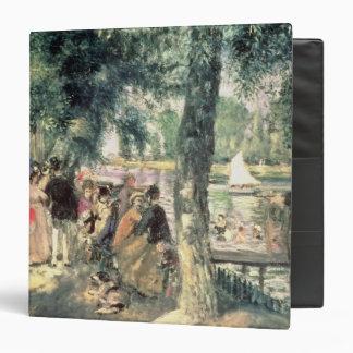 """Bañándose en el Sena o, La el Grenouillere, c.1869 Carpeta 1 1/2"""""""