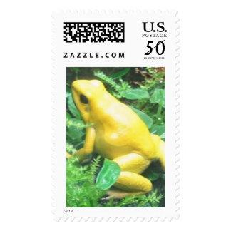 Bananna frog postage