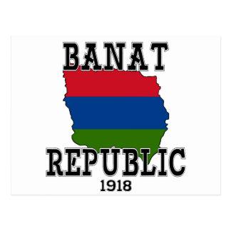 Banat Republic Postcard