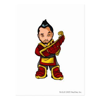 Bancha Ninja Shenkuu Staff Player Postcard