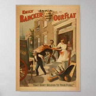 Bancker nuestro plano, 'Don�t pertenecen a su Firm Posters