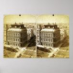 Banco de ahorros de Rochester 1892 Posters