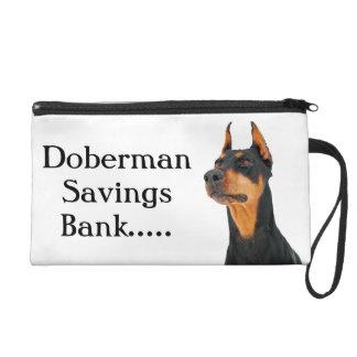 Banco de ahorros del Doberman