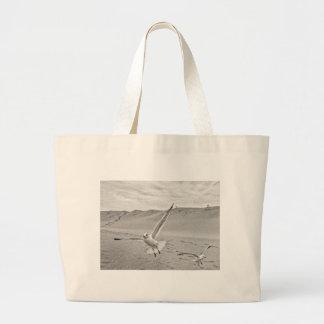 Banco de arena de la extensión de las alas de bolsa tela grande
