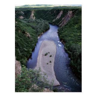 Banco de arena del río de Kemuk Tarjetas Postales