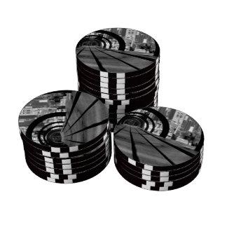 Banco de parque fichas de póquer