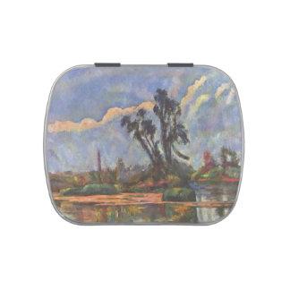 Banco de Paul Cezanne- del Oise Latas De Caramelos