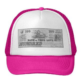Banco del amor verdadero gorra