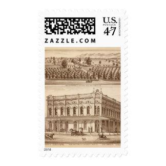 Banco del condado de Tulare Timbre Postal