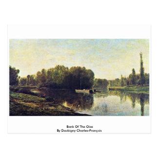 Banco del Oise de Daubigny Charles-François Tarjeta Postal